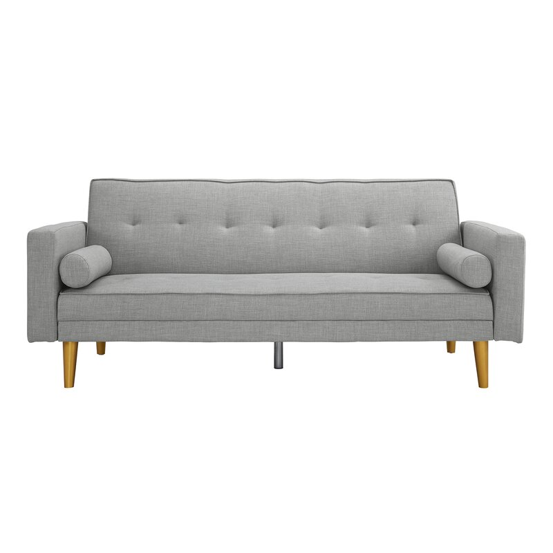 Novogratz Vintage Mix Convertible Sofa & Reviews | AllModern