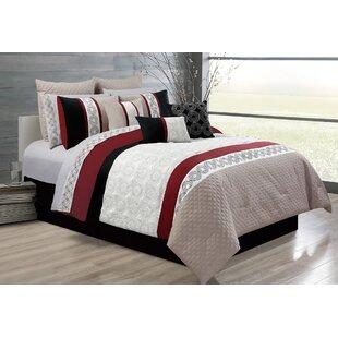 Andover Mills Elton 7 Piece Comforter Set