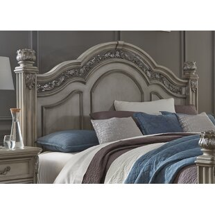Affordable Cavas Poster Panel Headboard by Astoria Grand