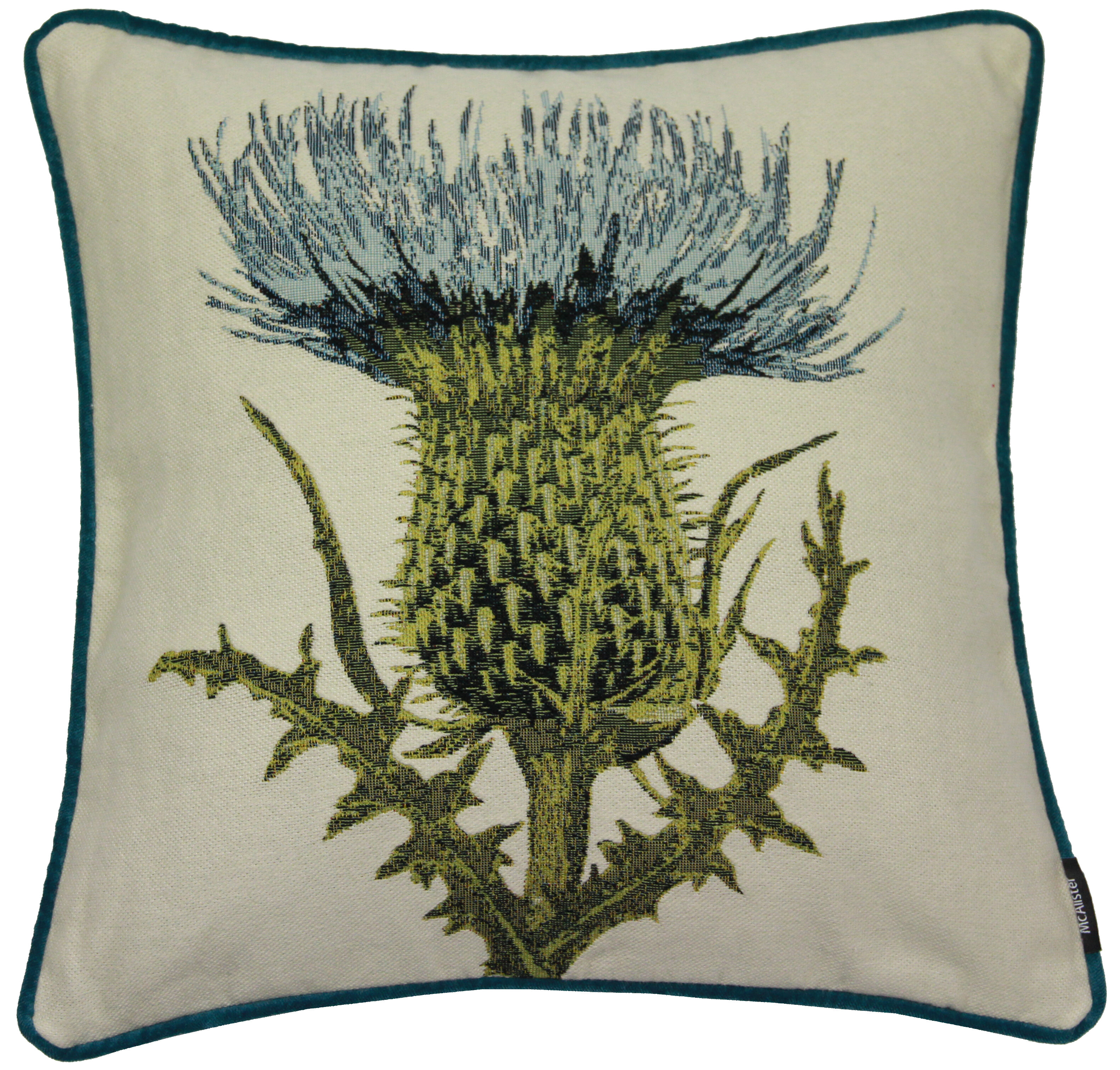 Mcalistertextiles Thistle Outdoor Square Pillow Cover Insert Wayfair