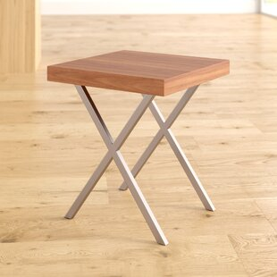 Coupon Addis End Table by Mercury Row