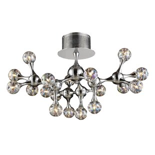 Brayden Studio Kurland 18-Light Semi Flush Mount