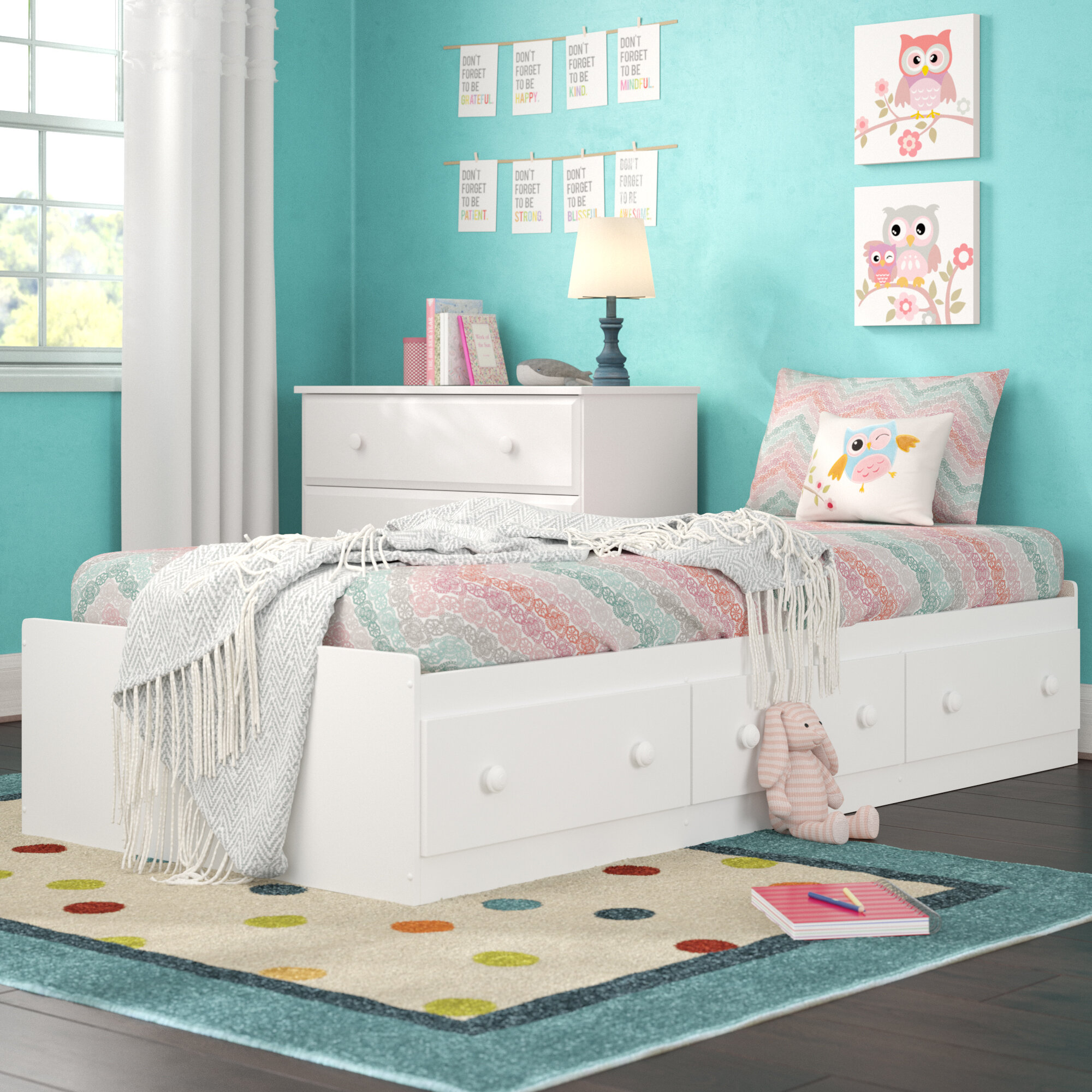 Storage Included White Beds You Ll Love In 2020 Wayfair
