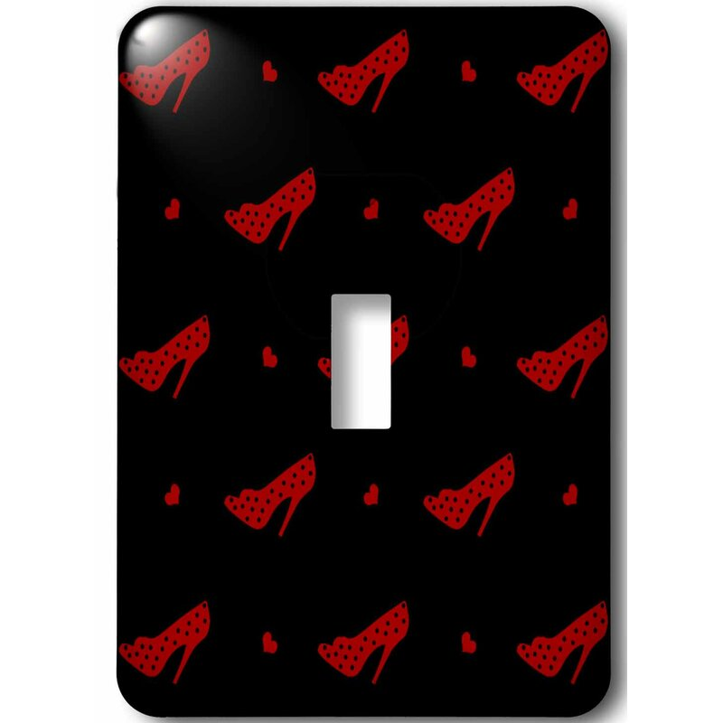 3drose Heels And Fashionable Shoes 1 Gang Toggle Light Switch Wall Plate Wayfair