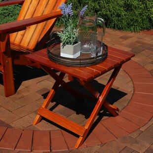 Susan Multi-Use Folding Teak Side Table