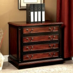 Bolinger Transitional 4-Drawer Lateral Filing Cabinet