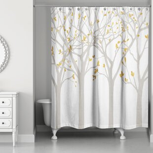 Hofstetter Tree Silhouettes Shower Curtain
