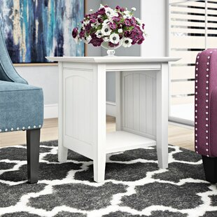 Read Reviews Orangetown End Table By Three Posts