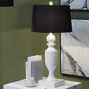 Omarion Modern Lacquer 35 Table Lamp