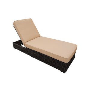 Teva Furniture Santa Monica Chaise Lounge with Cushion
