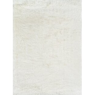 Best Choices Houser White Area Rug ByUnion Rustic