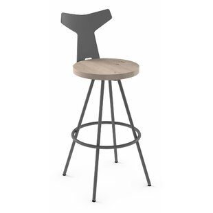 Low priced Avondale 30 Swivel Bar Stool by Brayden Studio Reviews (2019) & Buyer's Guide