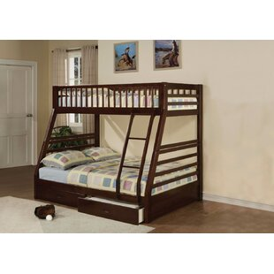 Sathvik Twin over Full Bunk Bed with 2 Drawers