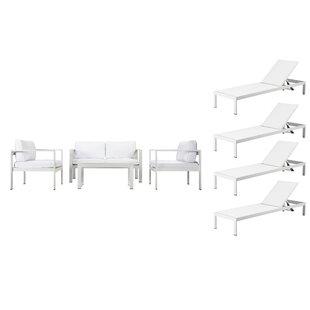 Hillwood 8 Piece Sofa Set with Cushions