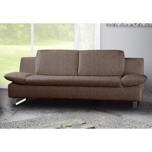 Sofa Space aus Echtleder von Wildon Home
