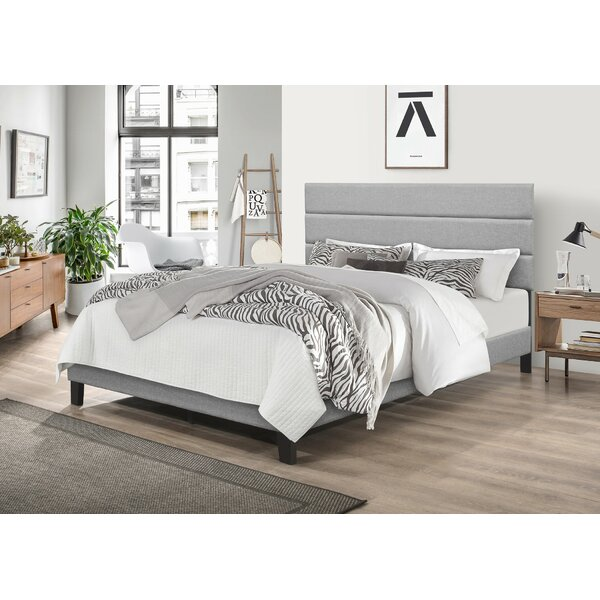 Ebern Designs Aghadavy Upholstered Low Profile Platform Bed Reviews Wayfair
