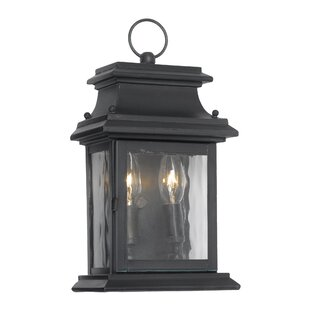 Pencewood 2-Light Outdoor Wall Lantern