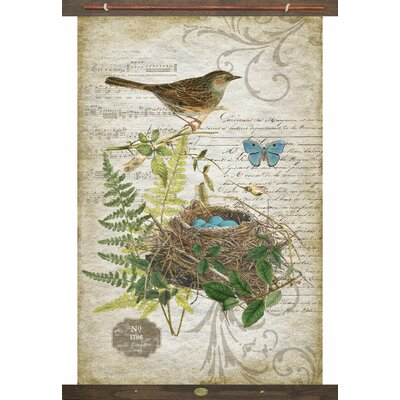 Bird Tapestry Charlton Home