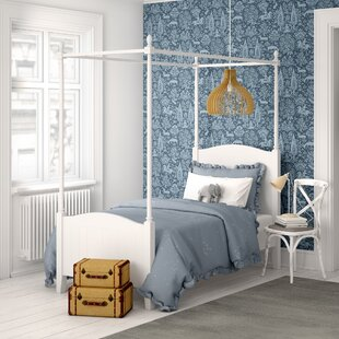 Woodcote Single Four Poster Bed By Harriet Bee