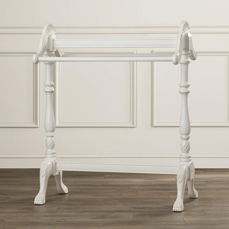 Astoria Grand Bedingfield Wood Accent Quilt Rack & Reviews   Wayfair : wood quilt rack - Adamdwight.com