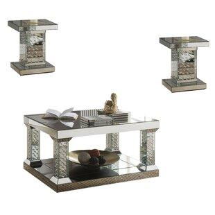 Vanness 3 Piece Coffee Table Set By Rosdorf Park