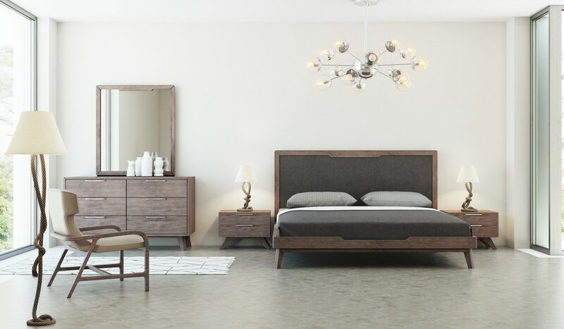 Ronan Upholstered Platform Bed