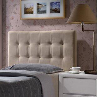 Worthen Upholstered Panel Headboard by Wrought Studio