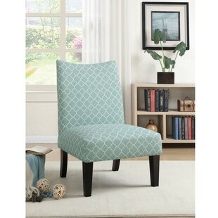Finlay Patterned Fabric Slipper Chair by Wrought Studio