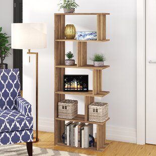 Celina Modern Standard Bookcase by Wrought Studio