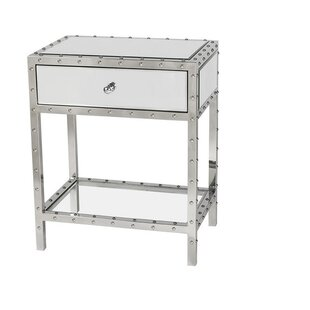 House of Hampton Broomfield End Table with Storage