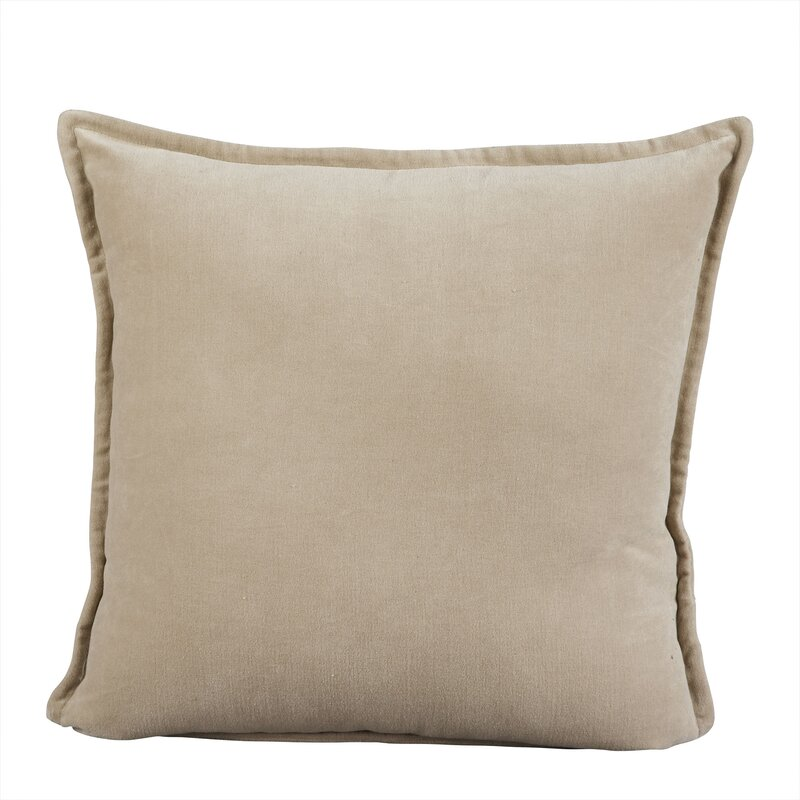 Samara Velvet Pillow Cover. Shop the Room! Sarah Richardson {Belvedere Rooftop Gallery} #SarahRichardson #velvetpillow