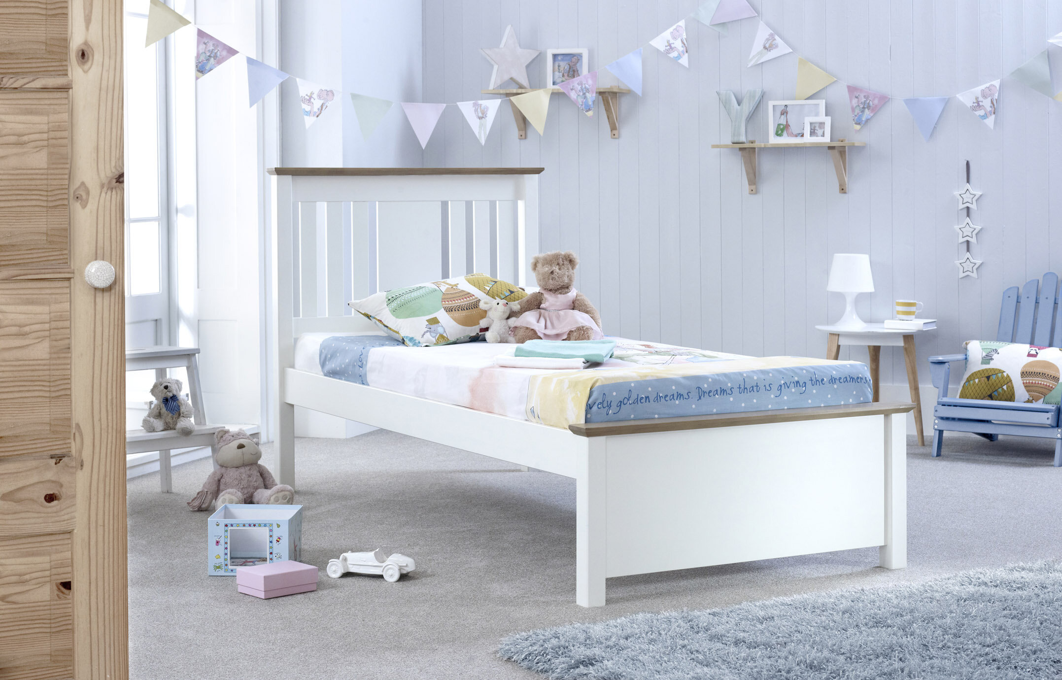 Viv Rae Andres Kids Single Bed Frame