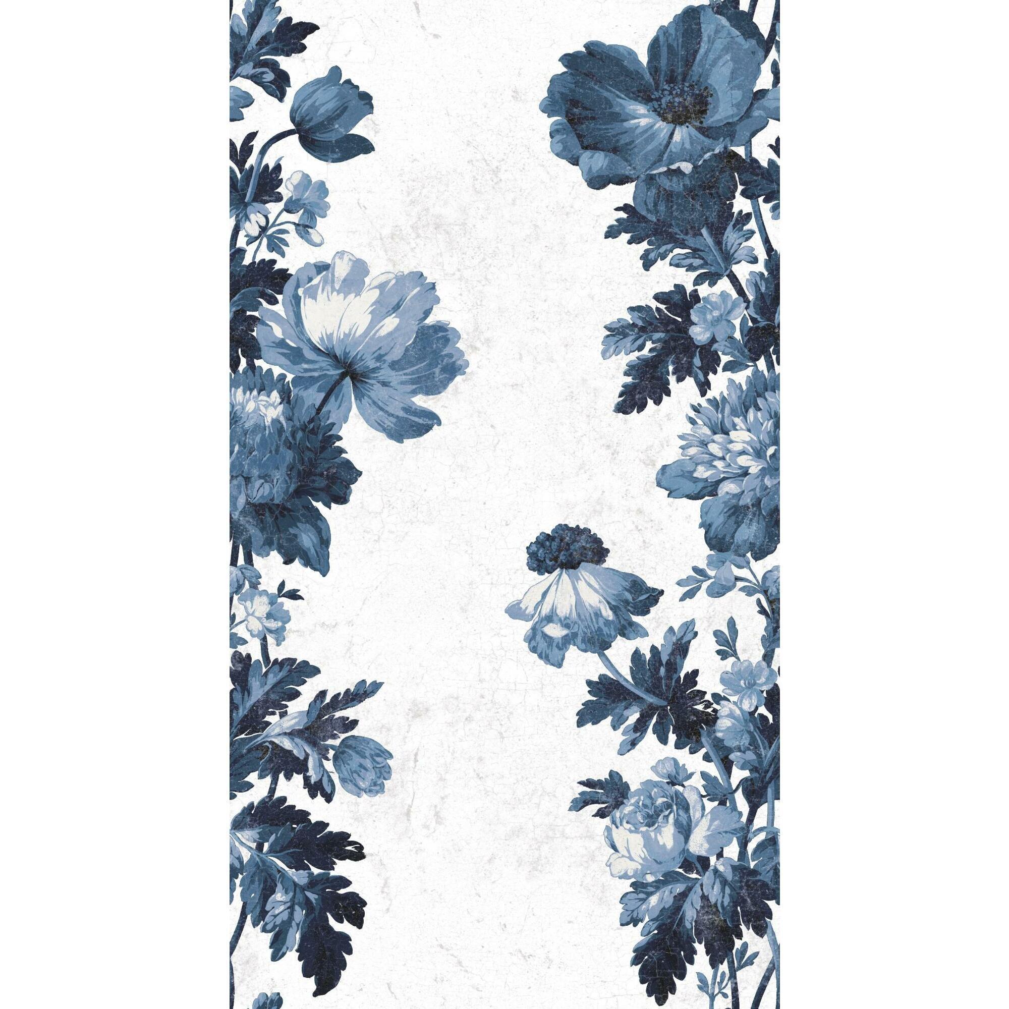 perla vintage floral stripe 1886 l x 18 w peel and stick wallpaper roll