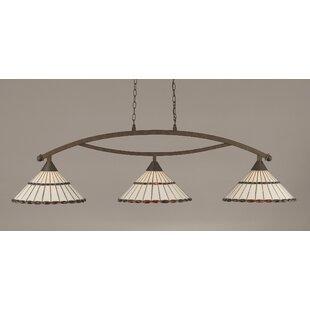 Austinburg Tiffany 3-Light Billiard Light by Astoria Grand