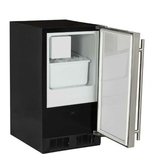Low Profile 15 3 lb. Daily Production Built-In Ice Maker with ADA Height by Marvel