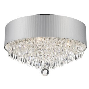 Rosdorf Park Victoria 4-Light Flush Mount