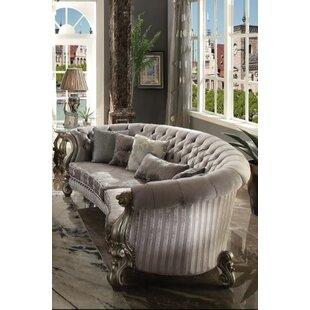 Shop Bermuda Curved Sofa by Astoria Grand
