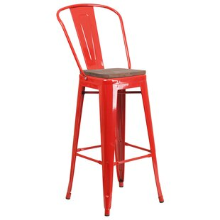 Maxie 30.5 Bar Stool Ebern Designs