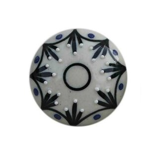 Flat Ceramic Novelty Knob