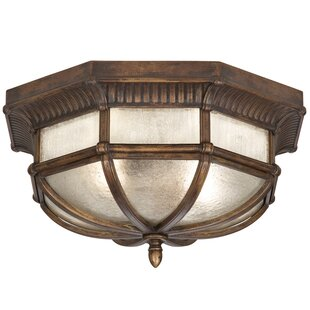 Fine Art Lamps Holland Park 2-Light Outdoor Flush Mount