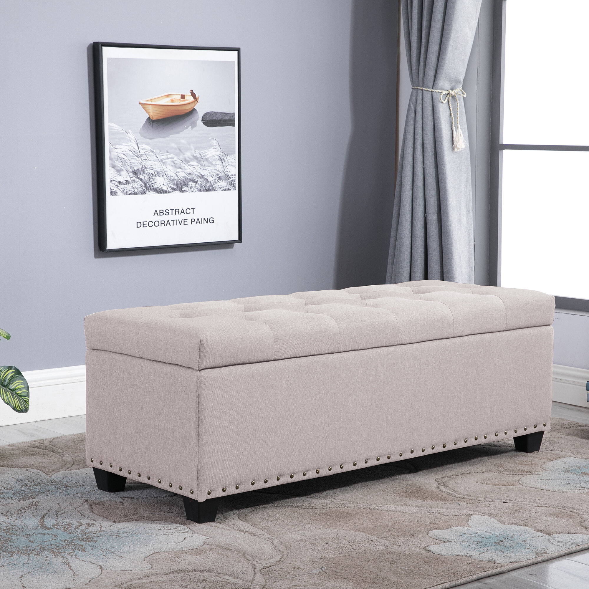 Astonishing Sibley Tufted Storage Ottoman Andrewgaddart Wooden Chair Designs For Living Room Andrewgaddartcom