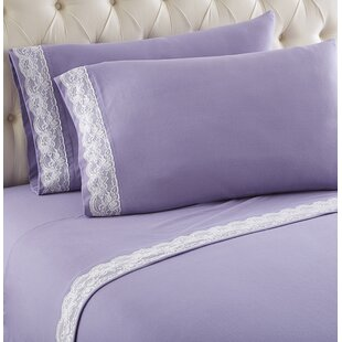 Georgette Lace Edged Sheet Set