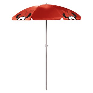 Minnie Mouse 5.5' Portable Beach Umbrella