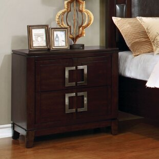Foxcote, Somerset\Foxcote 2 Drawer Nightstand