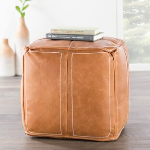 Nikki Chu Ultra By Nikki Chu Leather Pouf