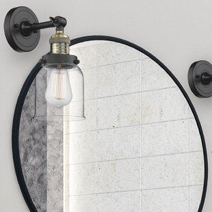 Gattis 1-Light Bath Sconce By Breakwater Bay