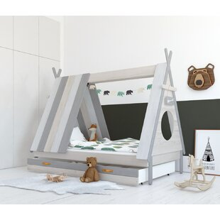 Morrisville European Single Tent Bed With Drawer By Zoomie Kids