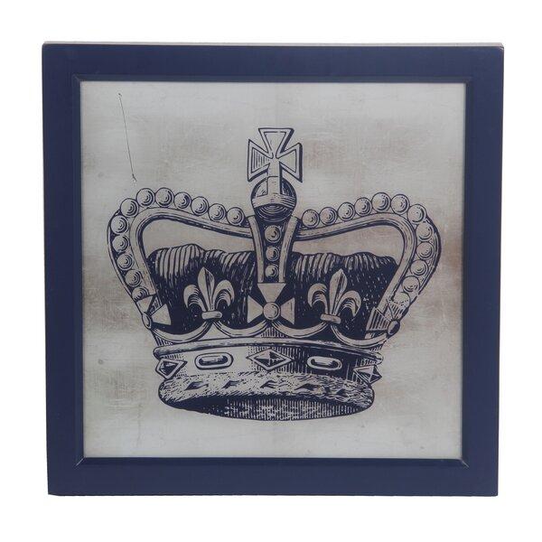 Grand Royal Crown Metal Wall Art Decor 12 x 10 1//2
