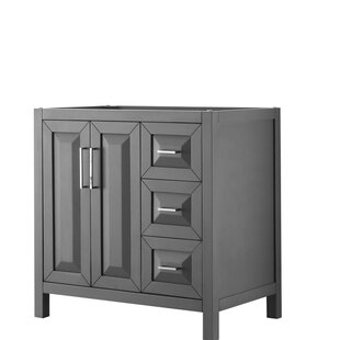 Compare & Buy Daria 35 Single Bathroom Vanity Base Only By Wyndham Collection