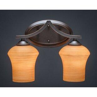 Red Barrel Studio Couto 2-Light Vanity Light